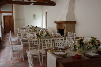 milanda dinner room wedding version fireplace